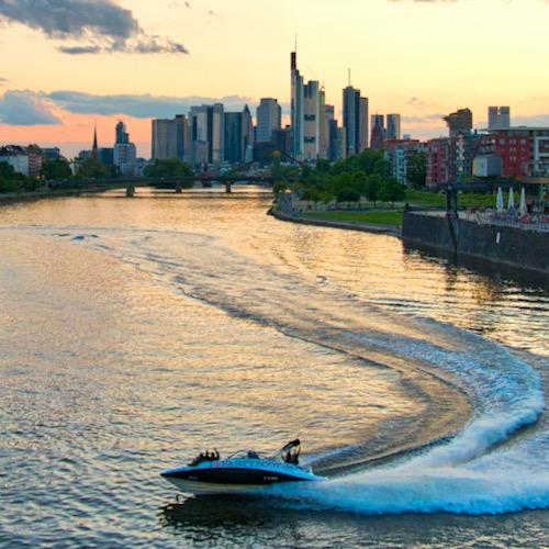 Speedboot Bootstour Frankfurt