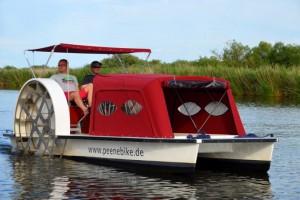 Bootstour mit dem Peenebike