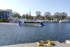Splashtour als Bustour und Bootstour Lübeck
