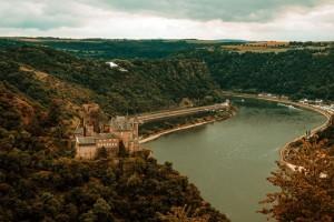 Burgenfahrt auf dem Rhein
