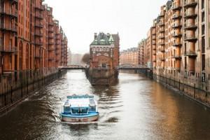 Bootstour durch Hamburgs Kontorhausviertel