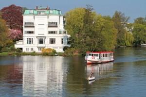 Kanalfahrt Hamburg
