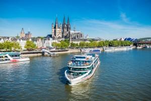 Panorama Schiffsrundfahrt Köln